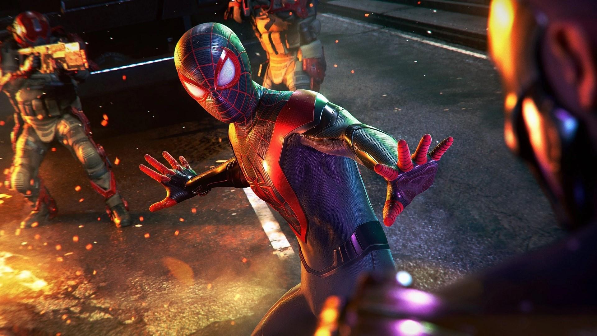 marvels spider miles morales