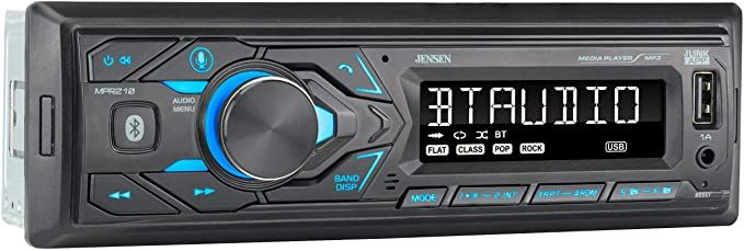 JENSEN MPR210 Car Stereo Receiver