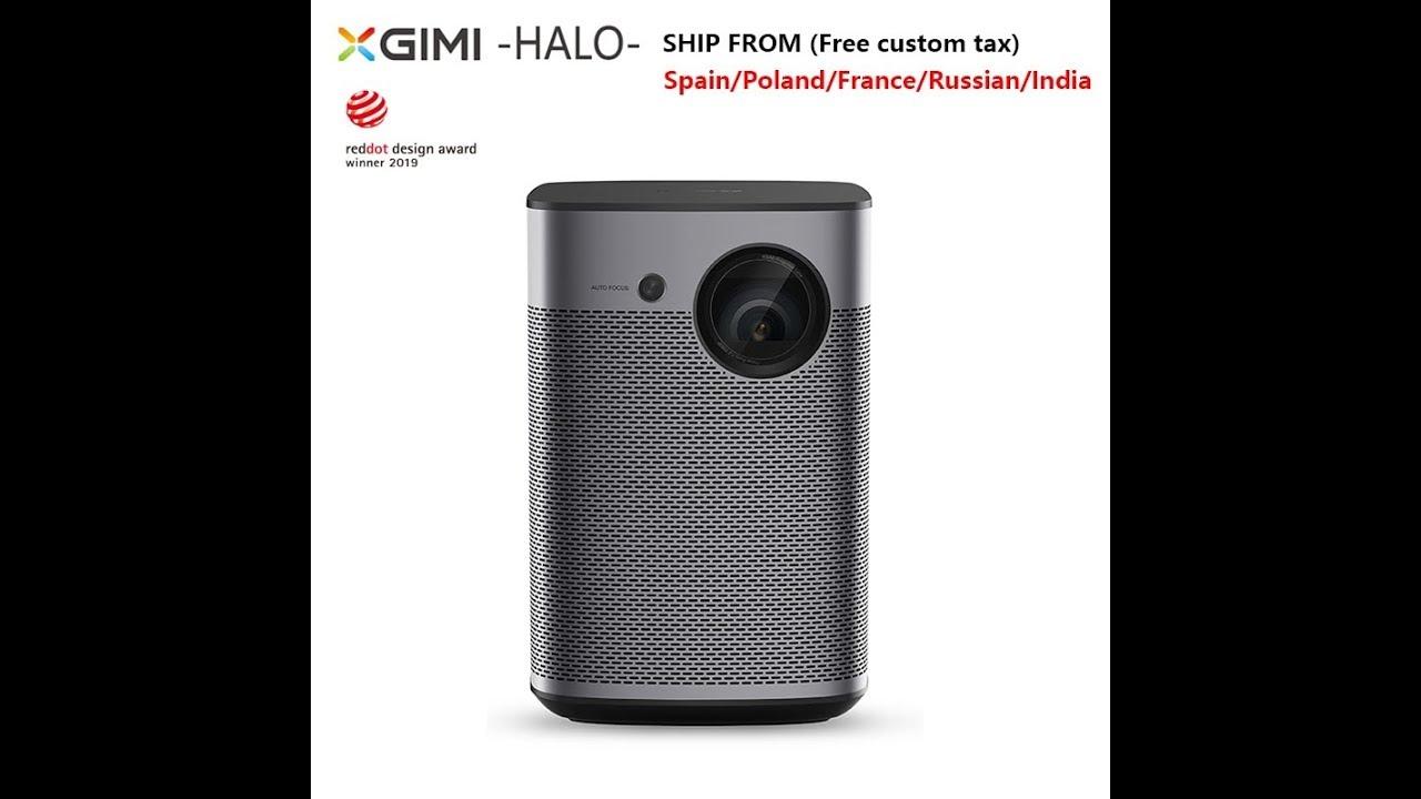 Xgimi Halo 1080p Portable Mini Projector